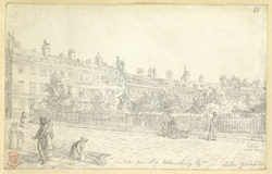Bloomsbury Square, London, c.1830 f88